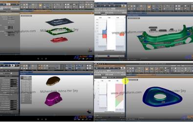 Autoform Tutorial R7 Applied Video Lessons-R7 Uygulamalı Video Dersler