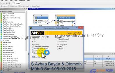 Fluent T boruda akışkan analizi videolu ve pdf'li anlatım